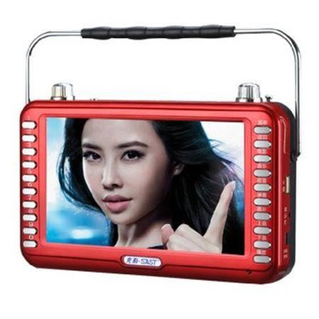 先科 SA-6005A看戏机插卡音箱 7寸高清视频播放器老人唱戏机听戏扩音收音机带支架提手