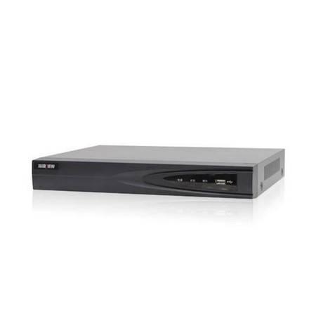 海康威视DS-7804N-K1/4P网络硬盘录像机4路H.265录像机NVR 带POE带2T硬盘
