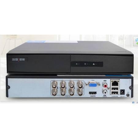 海康威视ds-7808hgh-f1/m dvr8路同轴高清硬盘录像机 模拟监控设备图片
