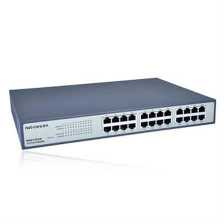 磊科(netcore)NS1226GF 24口全千兆+2光口桌面型交换机