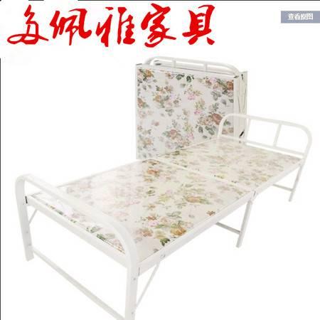豪华海绵折叠床行军床办公室午休睡床加固木板海綿床单人床午休床