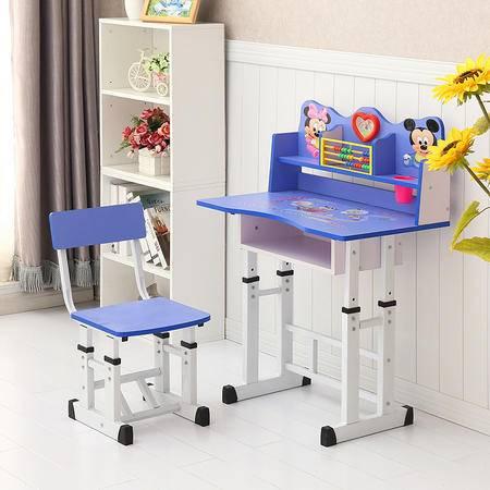 学习儿童书桌 学生写字桌椅套装儿童作业桌椅 小学生课桌椅可升降