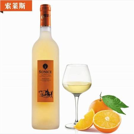 索莱斯 意大利橙酒香甜橙酒 果酒750ml