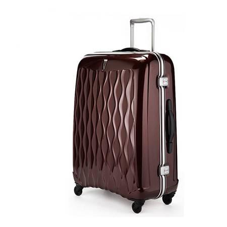 Antler安特丽英国商务旅行登机箱万向轮铝框拉杆箱26寸男女 34051