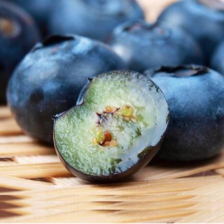 吉春水果 新鲜上市【四盒装】 新鲜智利蓝莓 鲜果水果 4盒装 航空包邮 13-16MM 实惠装