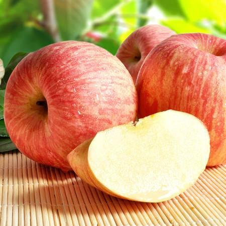 吉春山东烟台红富士苹果 栖霞新鲜苹果水果脆甜5斤