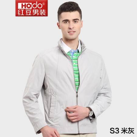 红豆男装春秋商务休闲时尚简约优雅夹克HWL5J3079