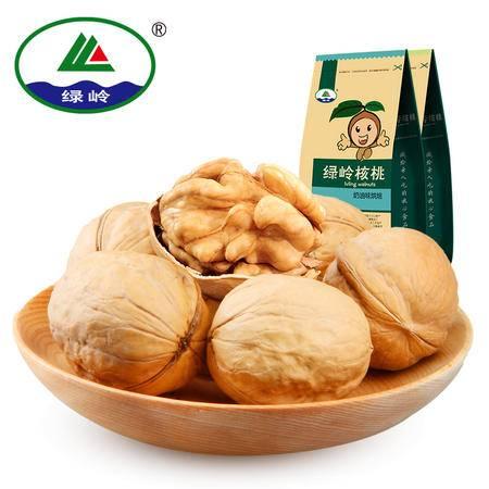 【绿岭】坚果炒货零食 多味烤制核桃组合装 蜂蜜味/五香味 350g×2