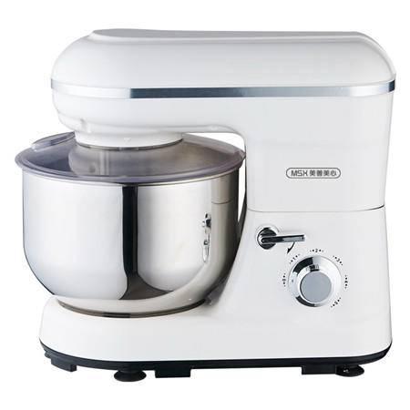美善美心 YB-108 多功能厨师机 打蛋 搅拌 和面 白色