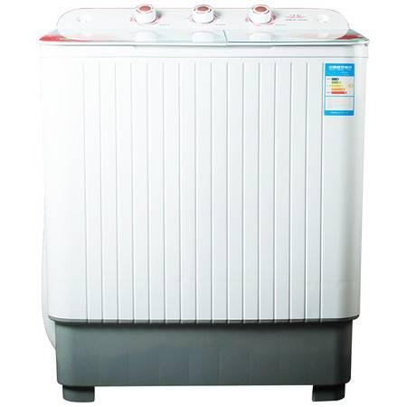双鹿 XPB78-7818s 洗衣机 双缸波轮 7.8公斤粉玻璃