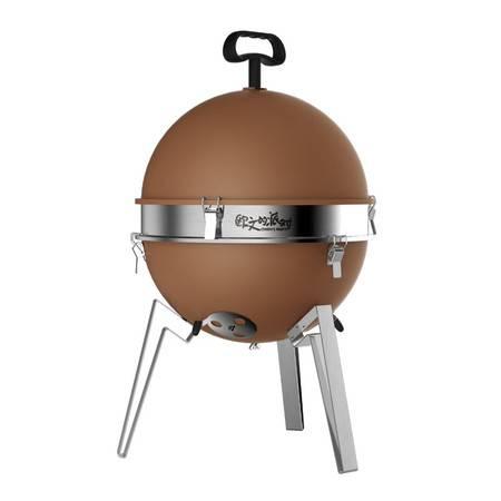 欧文的派对 蛋先生 便携小型烧烤炉 烧烤架迷你木炭烤肉架子户外烧烤工具