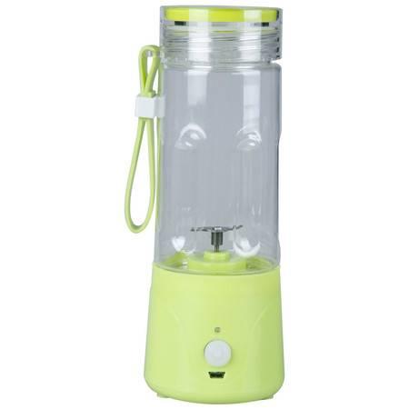 欣格尔  JR-1551 榨汁机搅拌机 便携电动果汁杯 粉色/绿色 两色可选