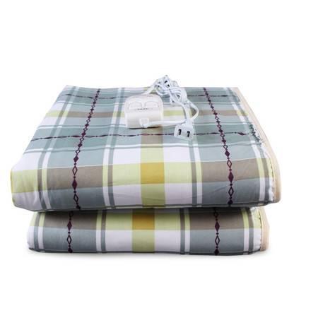 荣事达1558电热毯双人双控调温电热毯电褥子 安全保护加厚绒面