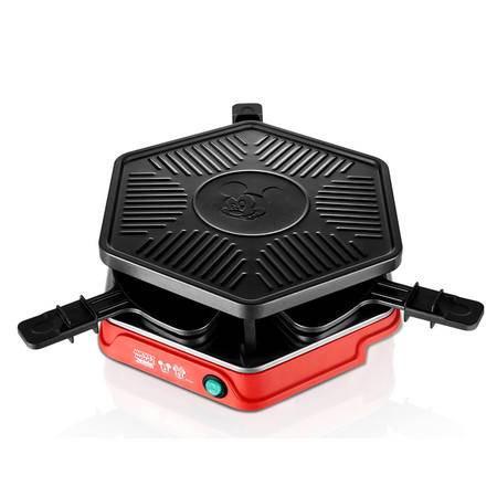迪士尼电烤盘 荣事达双层家用韩式电烤炉无烟烤肉机电烧烤架DSN-SK08A