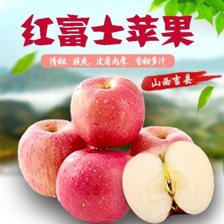 【上党馆】山西特产 吉县红富士苹果80#—85#*12枚 新鲜采摘苹果 包邮