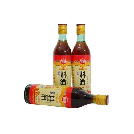 银明牌精制料酒 480ML