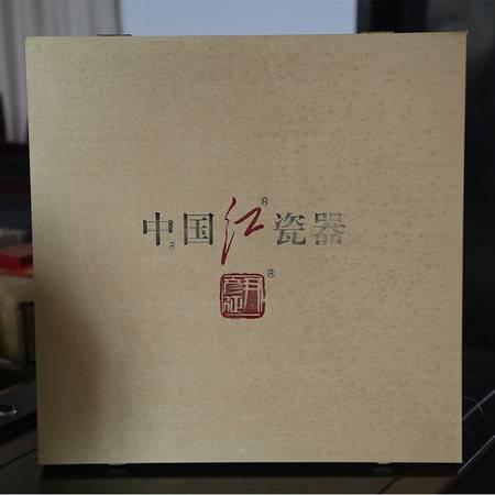 中国红瓷朱德像(大)