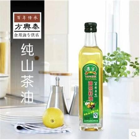 泰宇健康茶油500ml有机野生山茶油 食用油