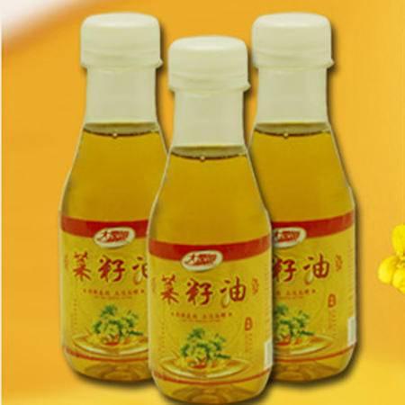 300ml湖南桃江特产压榨菜籽油非转基因