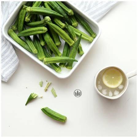 即食零食蔬果干蔬菜干果蔬秋葵脆片办公室零食50g*6罐包邮