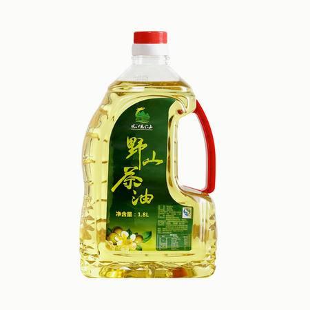 皖江龙穴山 纯天然野生山茶油 自榨茶油茶籽油食用茶油 桶装