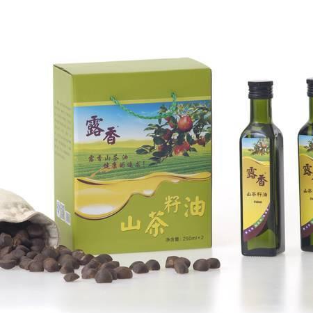梅州长荣露香高山茶油油茶籽油250ML