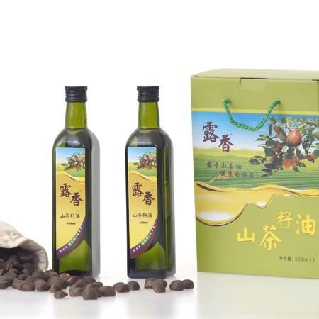 梅州长荣露香高山茶油油茶籽油500ML