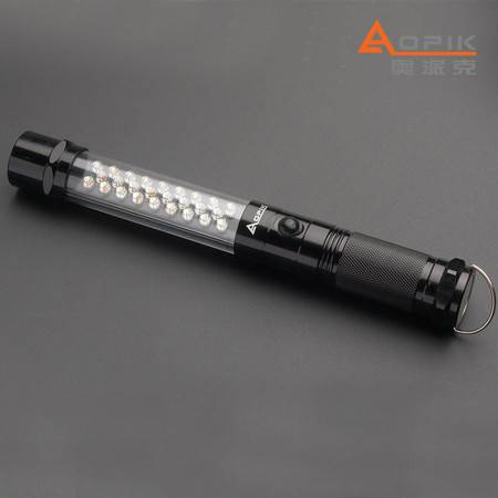 奥派克多 APK-8201功能手电筒led 应急照明设备 红光警示灯 正品包邮