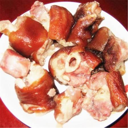 四川达州宣汉 百里峡腊猪蹄 特色农产品精装(500g)