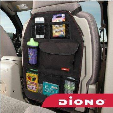 美国diono汽车座椅靠背储物袋防护垫椅背袋后背收纳袋杂物袋40246