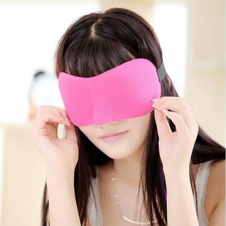 妙美 3D立体裁剪眼罩睡眠遮光纯棉透气时尚男女旅行护眼罩午休睡觉