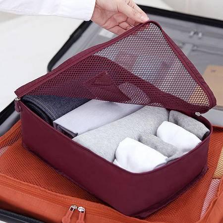 Jolinlifein S号透气丝网行李袋衣服整理包 旅行衣物收纳袋JLN019