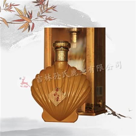 神崇牌招财金贝壳酒(鹿心酒)40°