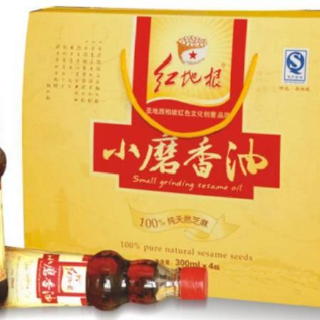 红地根  小磨香油  300ml*4