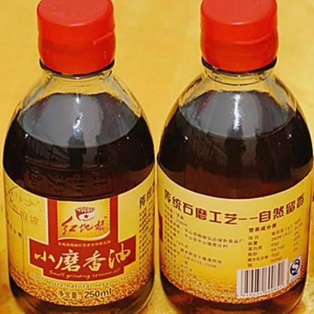 红地根  小磨香油  250ml