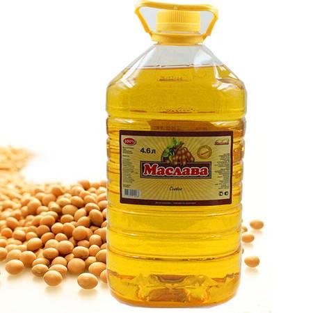 【四平馆】包邮 俄罗斯进口豆油4.6L 有机大豆油非转基因 食用油色拉油调味油