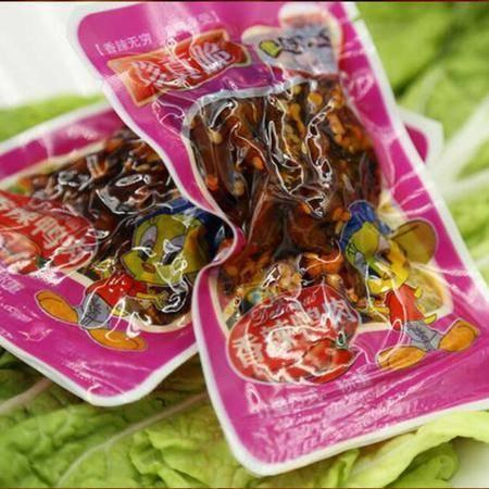 【特珍】即食休闲食品真空小袋装香辣鸭肉30g*16包