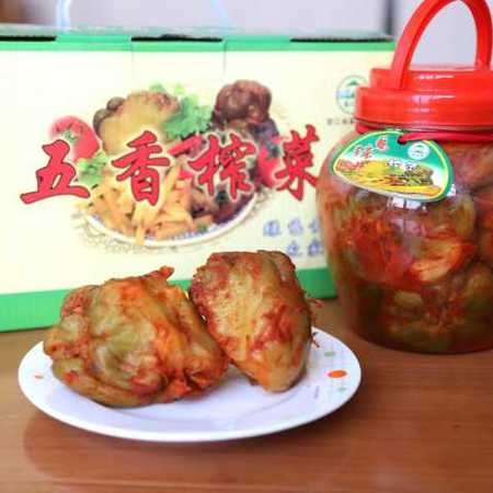 【绍兴 农家直销】马蹄井礼盒瓶装五香榨菜