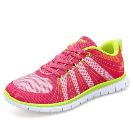 特步女鞋运动鞋女跑步鞋夏季轻便网面跑鞋透气休闲鞋旅游鞋女 985118119050