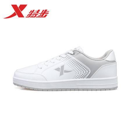 特步男鞋板鞋 新款正品 时尚韩版防滑休闲运动男滑板鞋学生滑板鞋986419319625