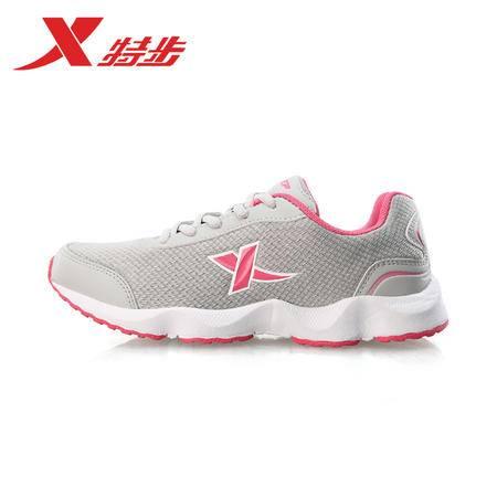 特步女鞋跑步鞋正品2016新款夏季鞋休闲鞋985118119850