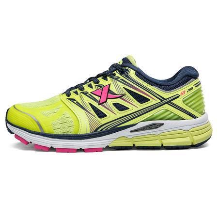 特步女智能芯跑步鞋2016秋季新品减震数据记录 极训280女子运动鞋