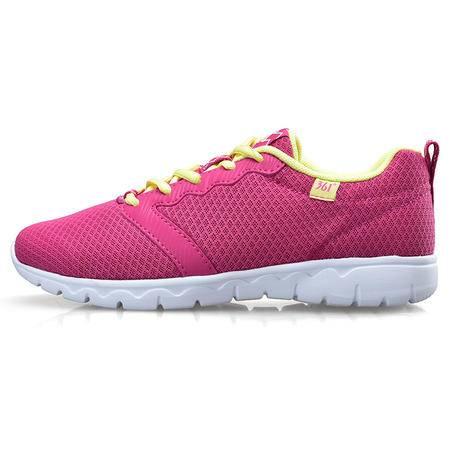 361度女鞋夏季跑步鞋女2016新款运动鞋361透气网面轻便跑鞋休闲鞋
