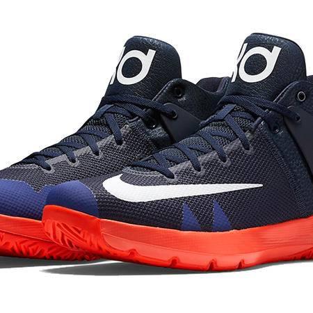 Nike耐克篮球鞋男杜兰特气垫战靴KD TREY 5 IV透气运动鞋844573