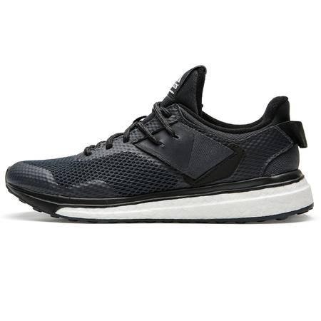 阿迪达斯男鞋跑步鞋透气秋季新款Boost黑武士休闲运动鞋BA8336