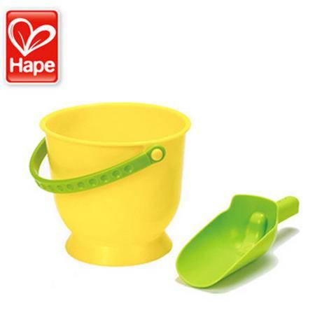 德国Hape 大桶组合 儿童沙滩玩具 特大号玩沙挖沙玩水工具