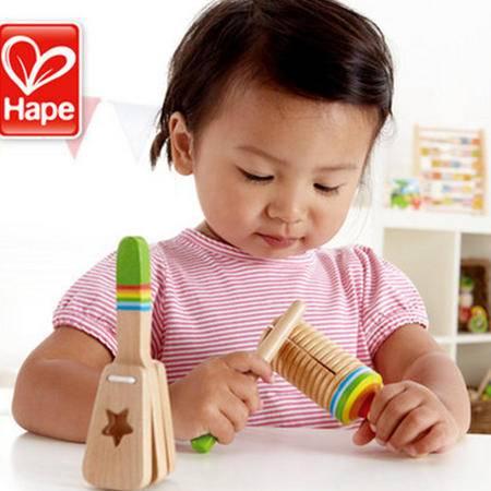 德国Hape早旋律音乐组合 1-2岁儿童益智玩具 宝宝婴儿早教木制