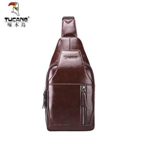 啄木鸟男士胸包休闲包男斜挎包运动单肩包男韩版背包潮流男包时尚