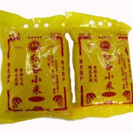 葫芦峪(袋装)红谷米(小米)300g/袋