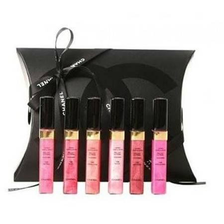 Chanel香奈儿 晶亮唇彩6件套礼盒装